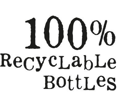 Hullabaloos 100% Recyclable Bottles