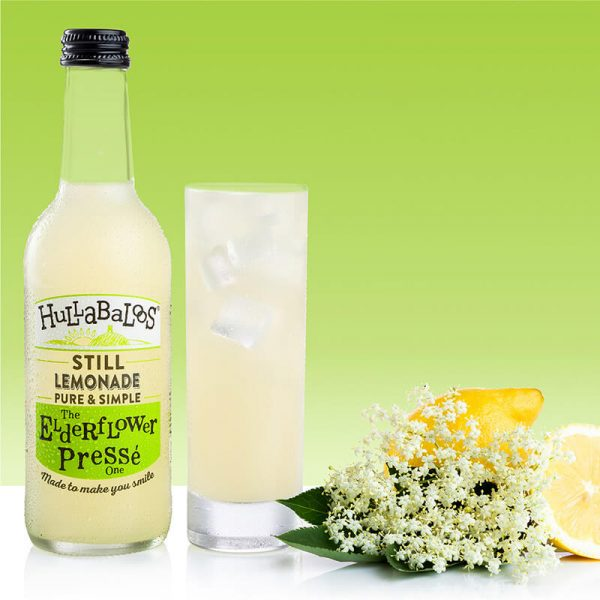 Hullabaloos Elderflower Lemonade
