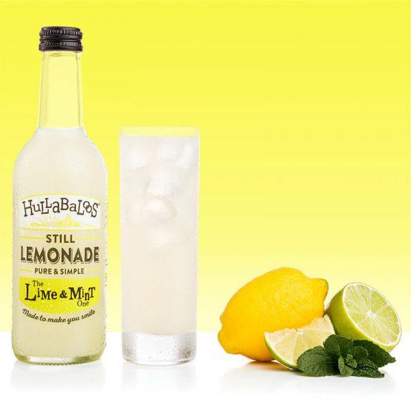 Hullabaloos Lime & Mint Lemonade