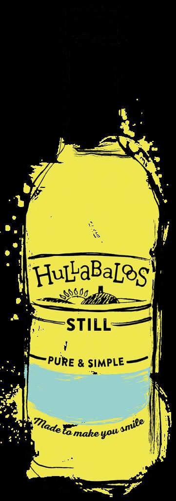 Hullabaloos Lemonade Bottle